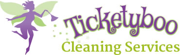 Ticketyboo Cleaning Services - Logo